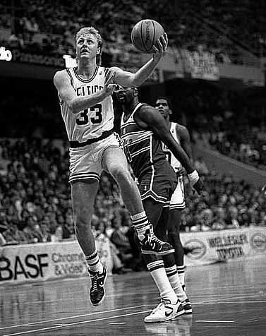 Boston Celtics legenda Larry Bird