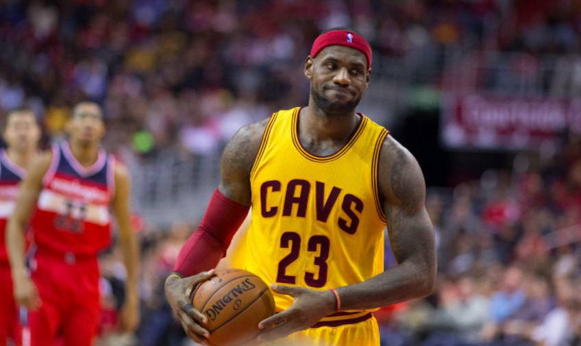 Cleveland Cavaliersin pelaajat Lebron James