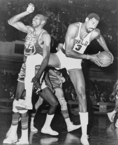 Golden State Warriors pelaajat Wilt Chamberlain