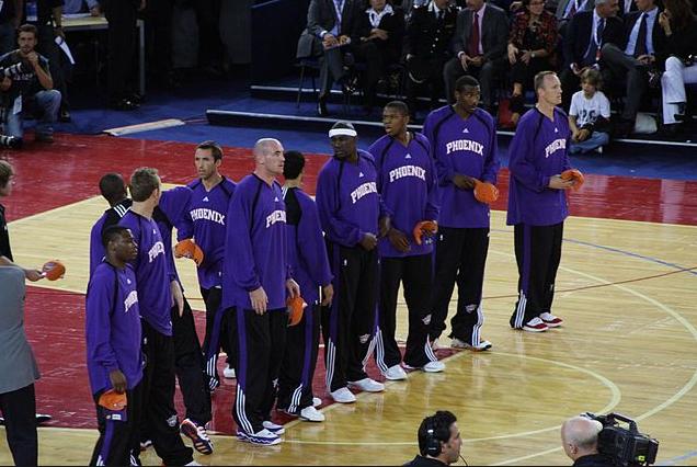 Phoenix Suns ottelut